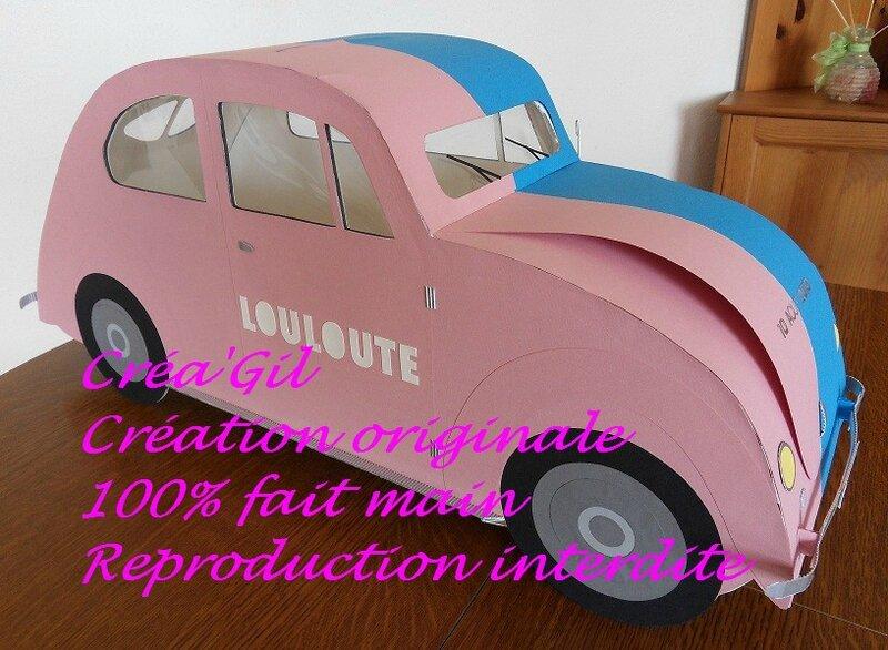 Urne voiture coccinelle 1958 1 Créa Gil