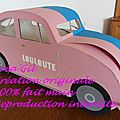 Urne voiture coccinelle 1958 1 Créa Gil