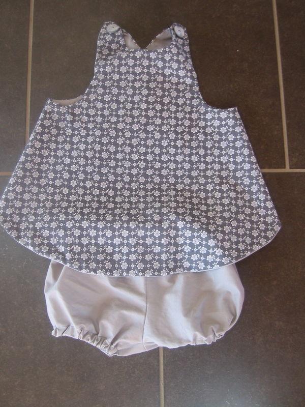 coton gris fleuri