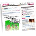 Vu en une aujourd'hui sur lepost.fr