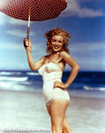 1949_tobey_beach_by_dedienes_umbrella_red_044_1
