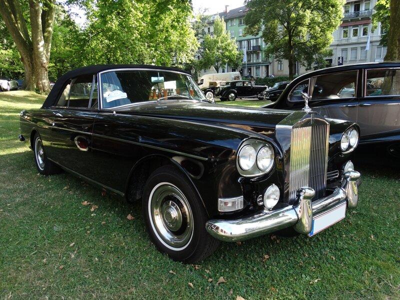 ROLLS ROYCE Silver Cloud III Drophead coupé Koren 1964 Baden Baden (1)