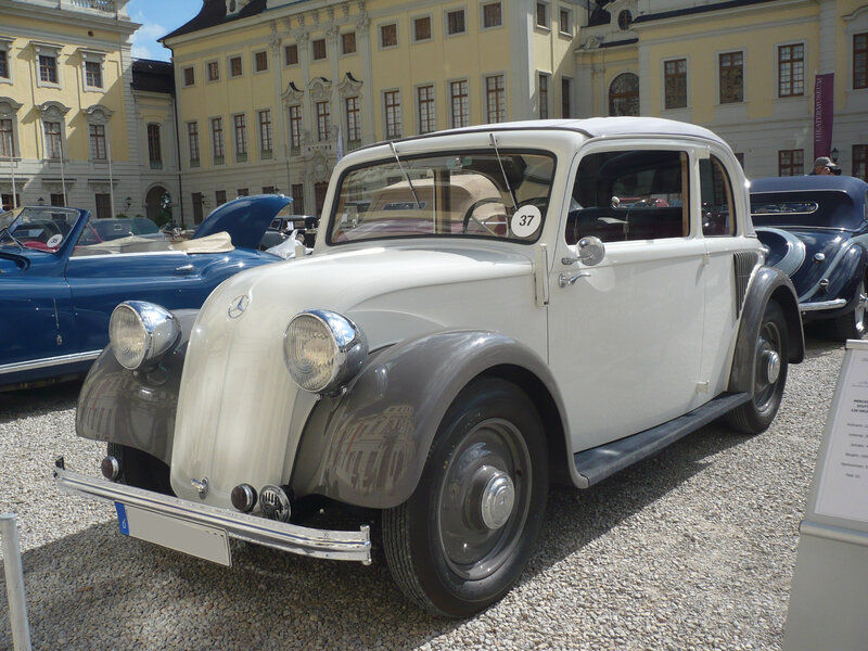 MERCEDES 130H W23 berline découvrable 1934 Ludwigsburg (1)