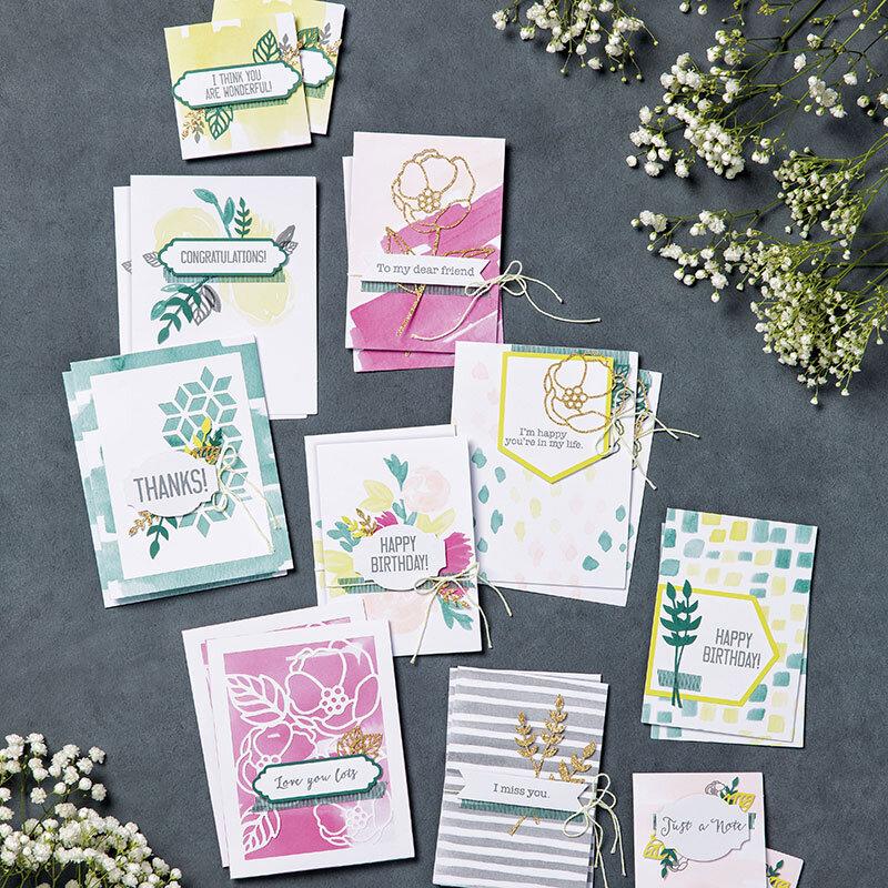 kits cartes douces notes