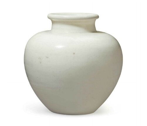 A small Xing-type jar, China, Late Tang-Five dynasties period, 9th-10th century