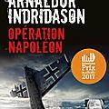 Opération napoléon, de arnaldur indridason