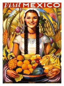 0000_3569_4_Affiche_de_voyage_au_Mexique_d_epoque_1939_Affiches