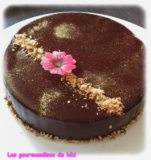 Entremet royal au chocolat
