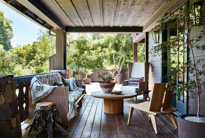 Anne Hathaway s California home photos by Stephen Kent Johnson