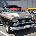 CHEVROLET Apache 2door pick-up 1958 Sinsheim (1)