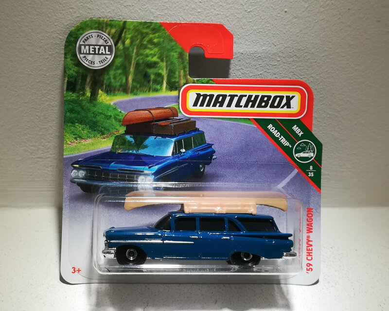 Chevrolet Chevy Wagon de 1959 (Matchbox)