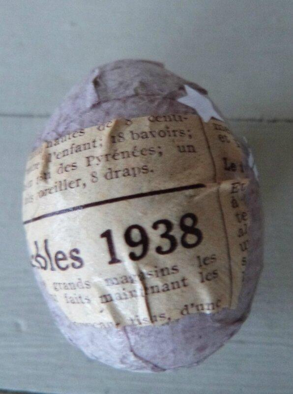 Oeufs de Pâques papier ancien (24)