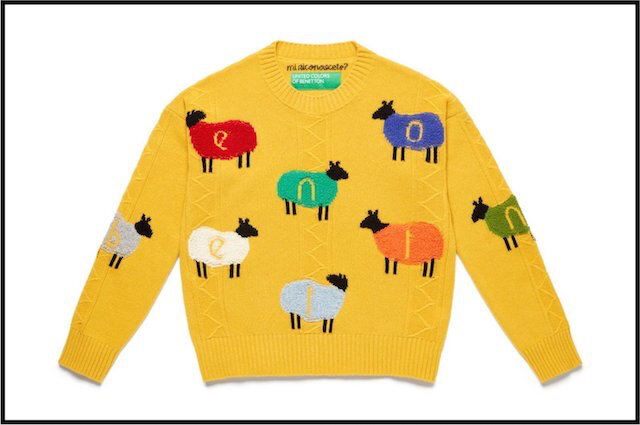 benetton pull moutons 7