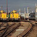 BB 69000 x2 en livrée Infra, dépôt de Bordeaux