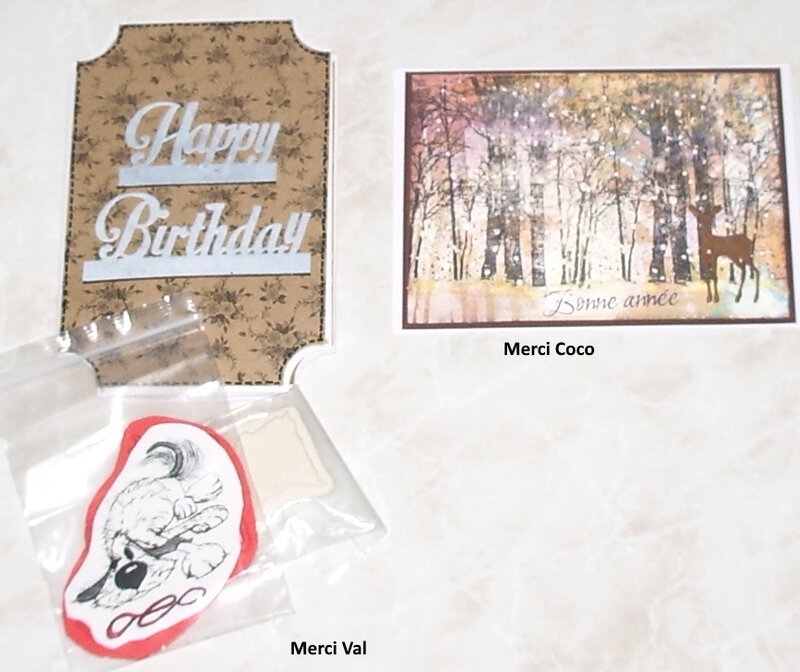 cartes Val et Coco