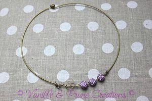 collier rigide bronze perle shamballa parme4