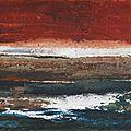 10 - Acrylique sur papier marouflé sur toile - 65 x 50 cm