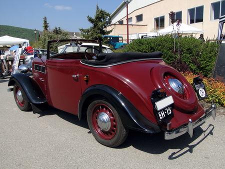 ROSENGART Super Sept Cabriolet 1938 Bourse d'Echanges de Soultzmatt 2011 2