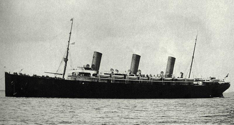 S/S Kaiser Friedrich, 1898.