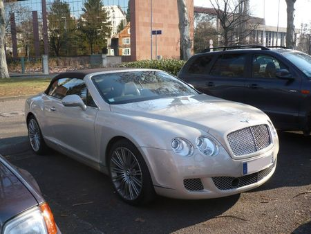 BENTLEY Continental GTC cabriolet 4 places Strasbourg - PMC (1)