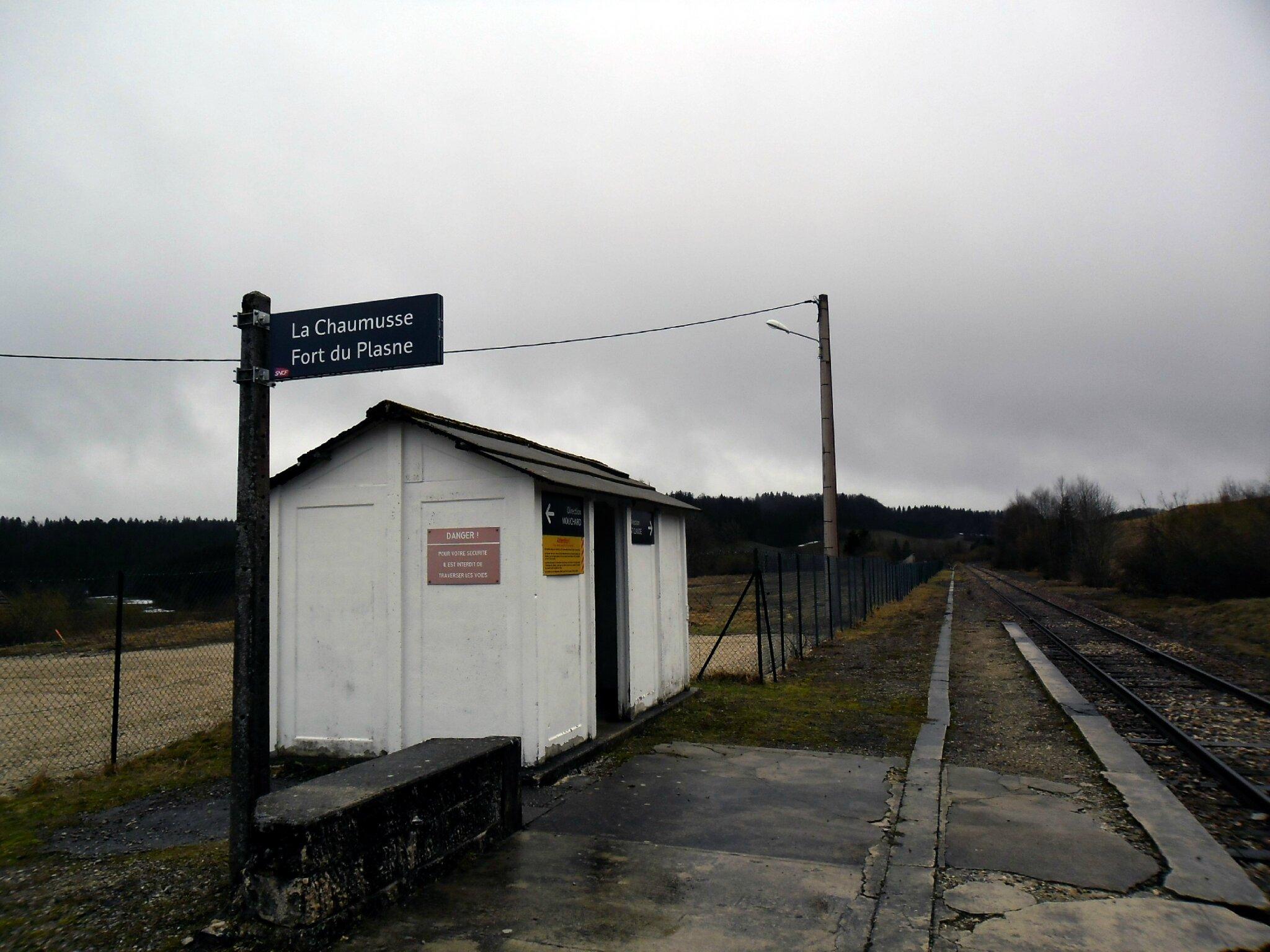 La Chaumusse - Fort du Plasne (Jura)