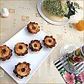 Muffins aux flocons d'avoine