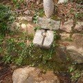 Source et fontaine , massif de Cagna ...
