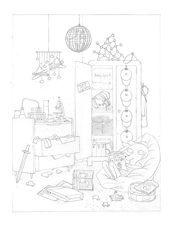 crayon chambre panpi blog