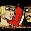 Pirate des caraibes 3 Elizabeth Swann and Jack Sparrow