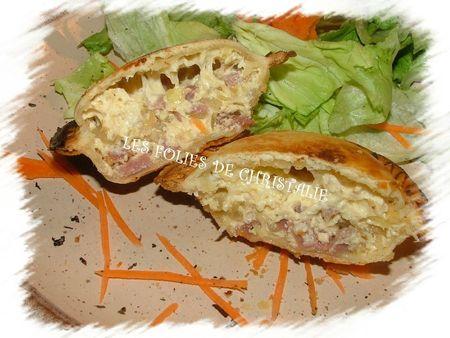 Tourte jambon oignon 3