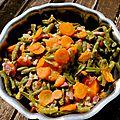 Un plat bien de chez ma reum! (haricots carottes à ma façon!)