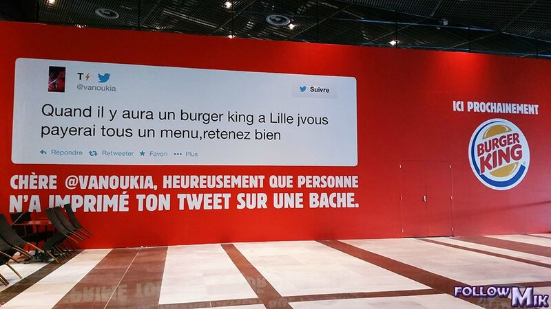 Burger King Lille avant