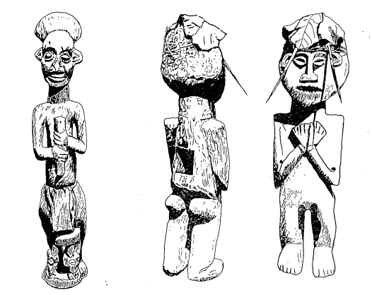 Statuettes protectrices de Kom