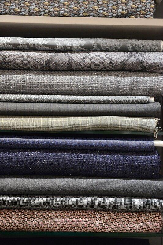 Tissus tweed, prince de galles, laine, doublures Boutique Avant Après 29 Rue Foch 34000 Montpellier