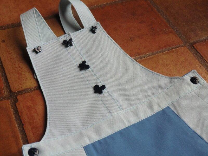 Ma robe salopette P&m 8 A 002