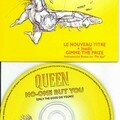 Queen No one but you cd's France