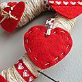 Diy - faire soi-même une petite déco pour la saint valentin + cadeaux a gagner !!!