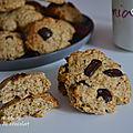 Biscuits moelleux aux pépites de chocolat