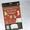 Ctop : design du plastique magique version noël
