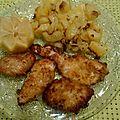 Escalopes de poulet panées (ou la