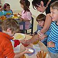 Atelier cuisine sept 2011 charlotte poire et fromage blanc