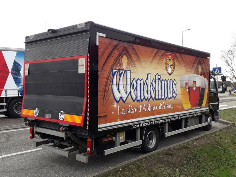 DAF LF180 véhicule livraison de boissons aménagé par Stricher 2017 Schweighouse sur Moder (2)