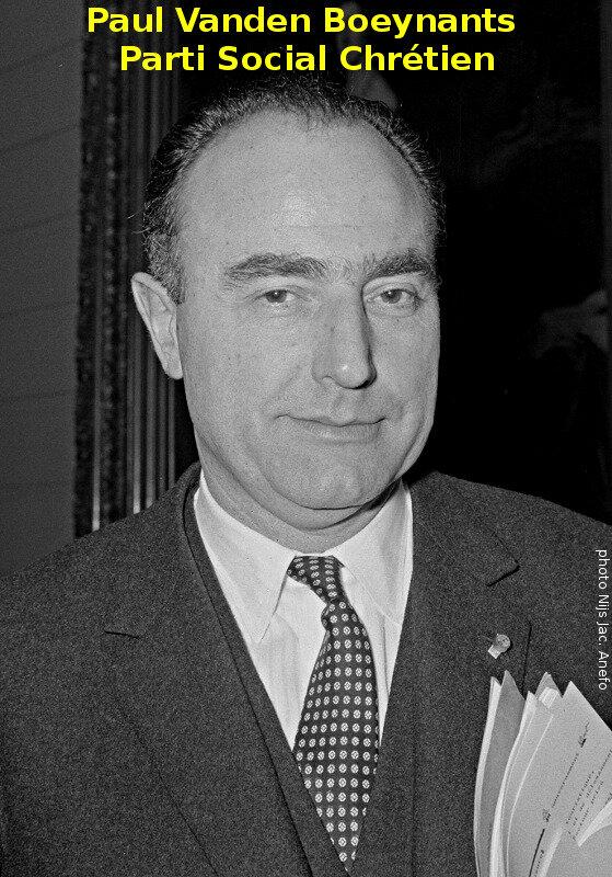 1968-Paul Vanden Boeynants