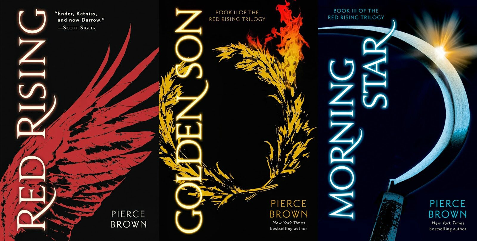 Pierce Brown - Trilogie Red Rising (T1: Red Rising, T2: Golden Son ...
