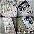 Tuto album escapade nature par amélie ecoscrap