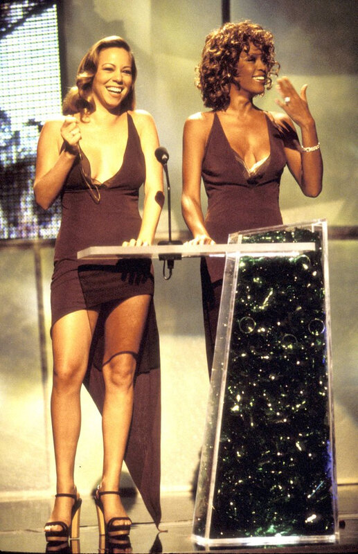 Mariah-Carey-Whitney-Houston-made-light-alleged-feud