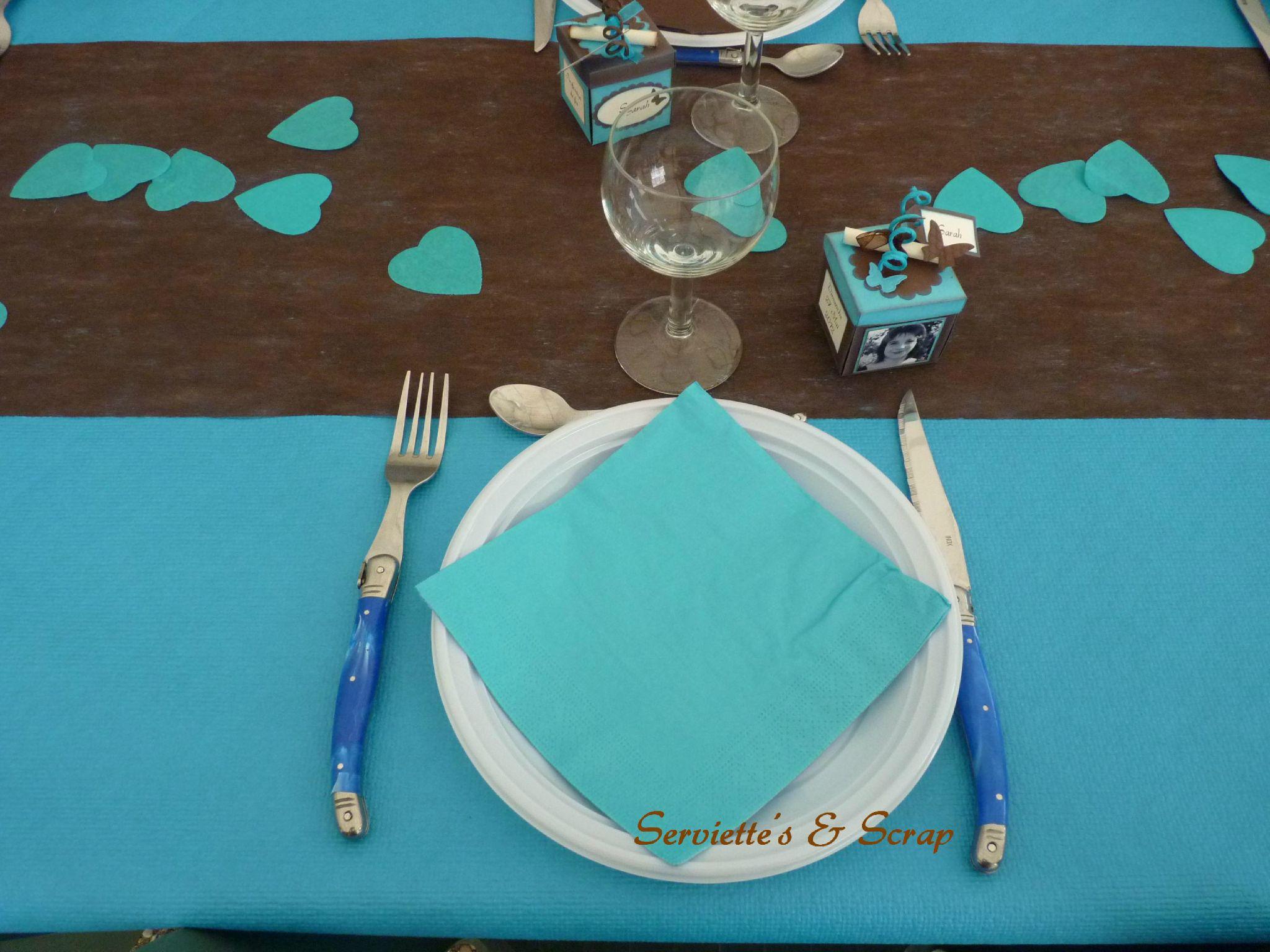La déco de table - Serviette\'s & Scrap