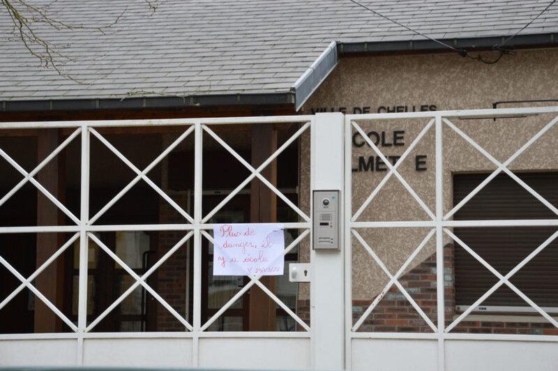 Les enfants de l'école primaire ont été évacués au collège pendant l'intervention des secours. (©La Marne)