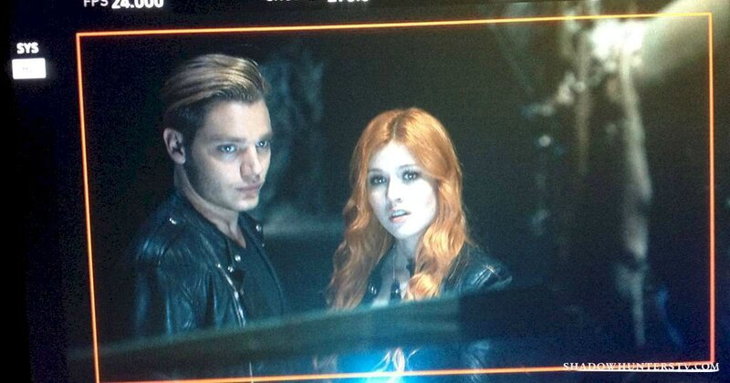 Clary and Jace Shadowhunters TV ABC Family