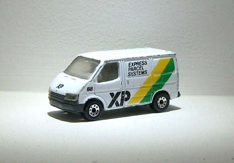 Ford transit (Matchbox)